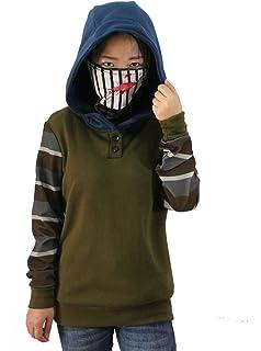 Amazon Com Xcostume Creepypasta Hoodie Unisex Deluxe Polyester