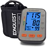 Konquest KBP-2704A Automatic Upper Arm Blood Pressure Monitor - Accurate, Adjustable Cuff, Large Backlit Display…