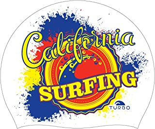 Turbo Bonnet natation silicone California Surfing Silicone Cap