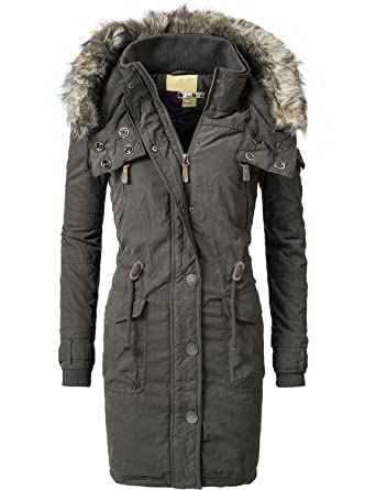 new style 21a3f e4bdd Peak Time Damen Mantel Wintermantel Winterparka L61250 2 Farben M-XXL