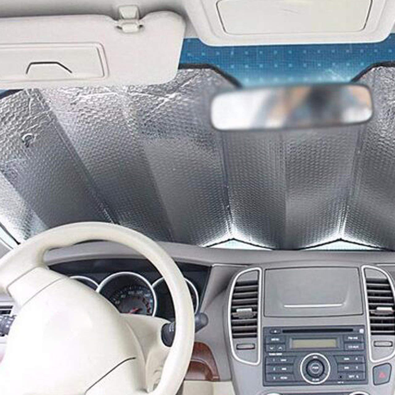 fITtprintse Parabrezza per auto di alta qualit/à Parasole per auto Parasole pieghevole per auto Anteriore per auto Parasole per auto Parasole per auto