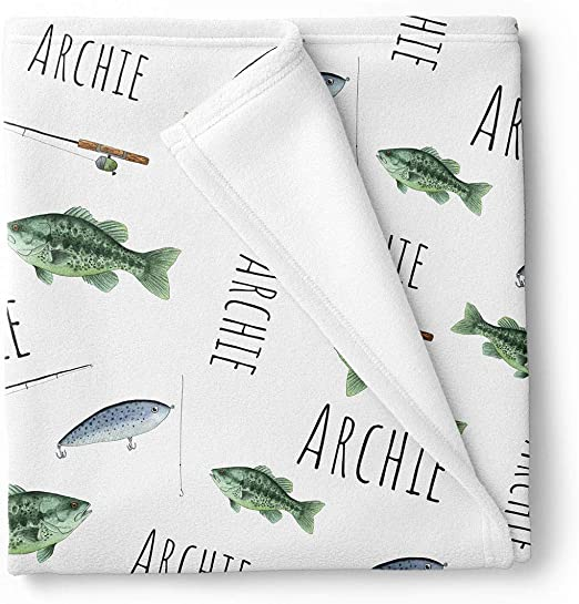 Cuddle Company Printed swaddle sets personalised with baby name