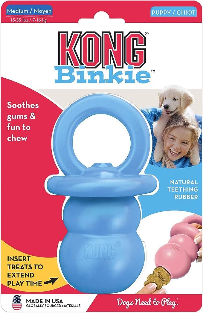 Paulchen Puppy Kong Binkie (M) 15910 Hunde Spielzeug 14 cm