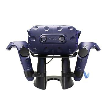 AMVR VR Ständer, VR Headset Display Halterung für HTC Vive Headset oder HTC Vive Pro Headset und Controller
