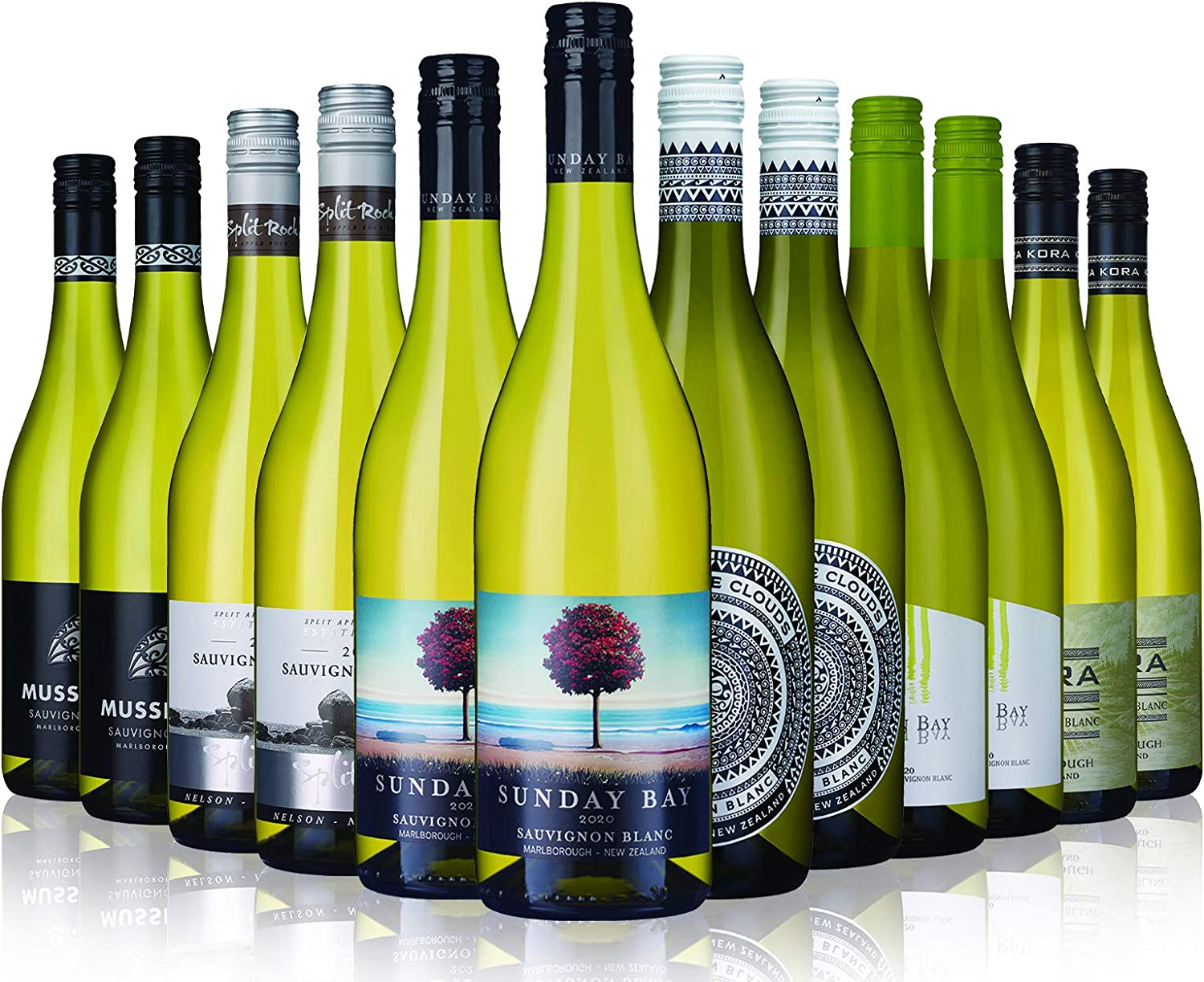 New Zealand Sauvignon Blanc Mix - 12 Bottles (75cl) - Laithwaites Wine:  Amazon.co.uk: Beer, Wine & Spirits
