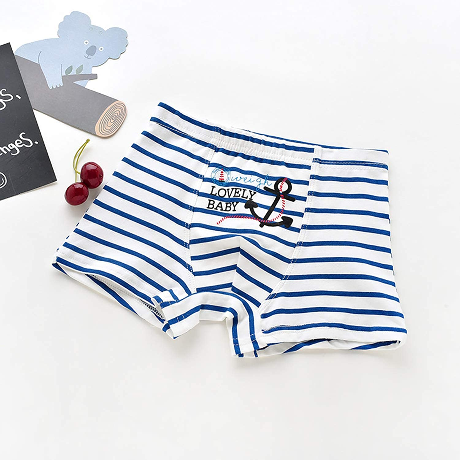 HLMBB Toddler Underwear Boxer Briefs Little Boys Kids Trainning Short Panties Flexbile