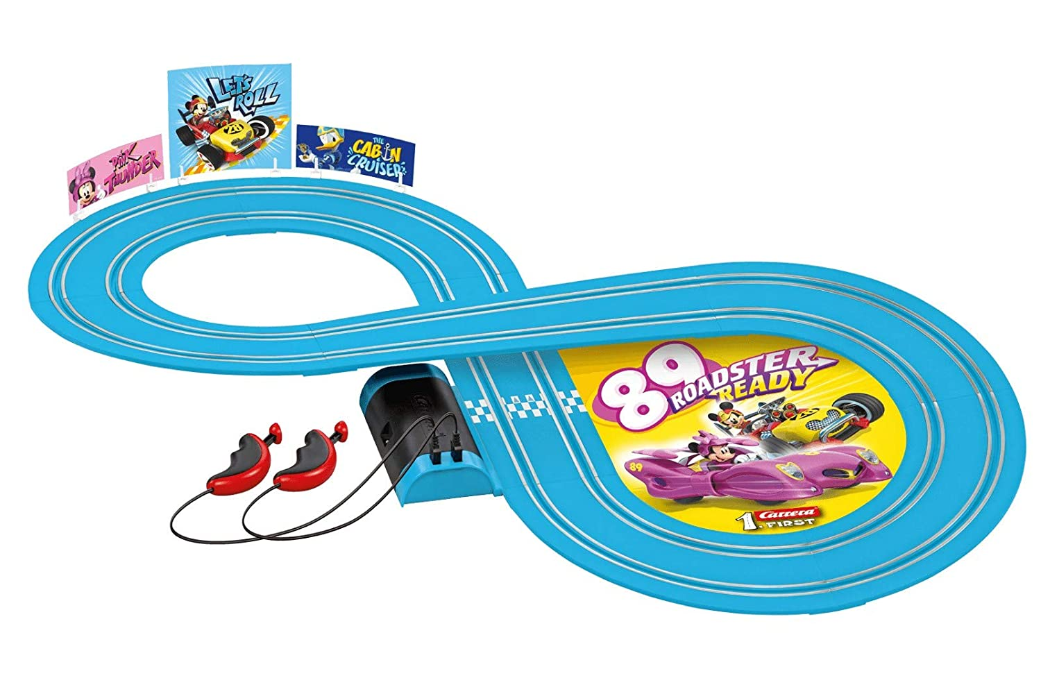 Amazon.com: Carrera First Mickey and The Roadster Racers – Minnie: Toys & Games