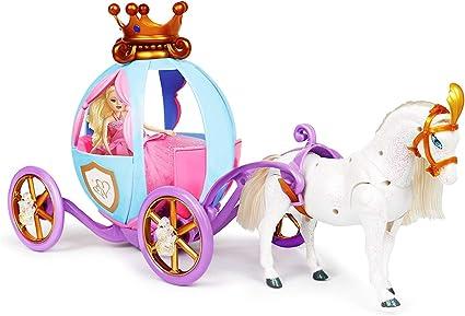 Disney Princess Cinderella Horse /& Carriage Toy Girls Royal Doll Fantasy Pumpkin