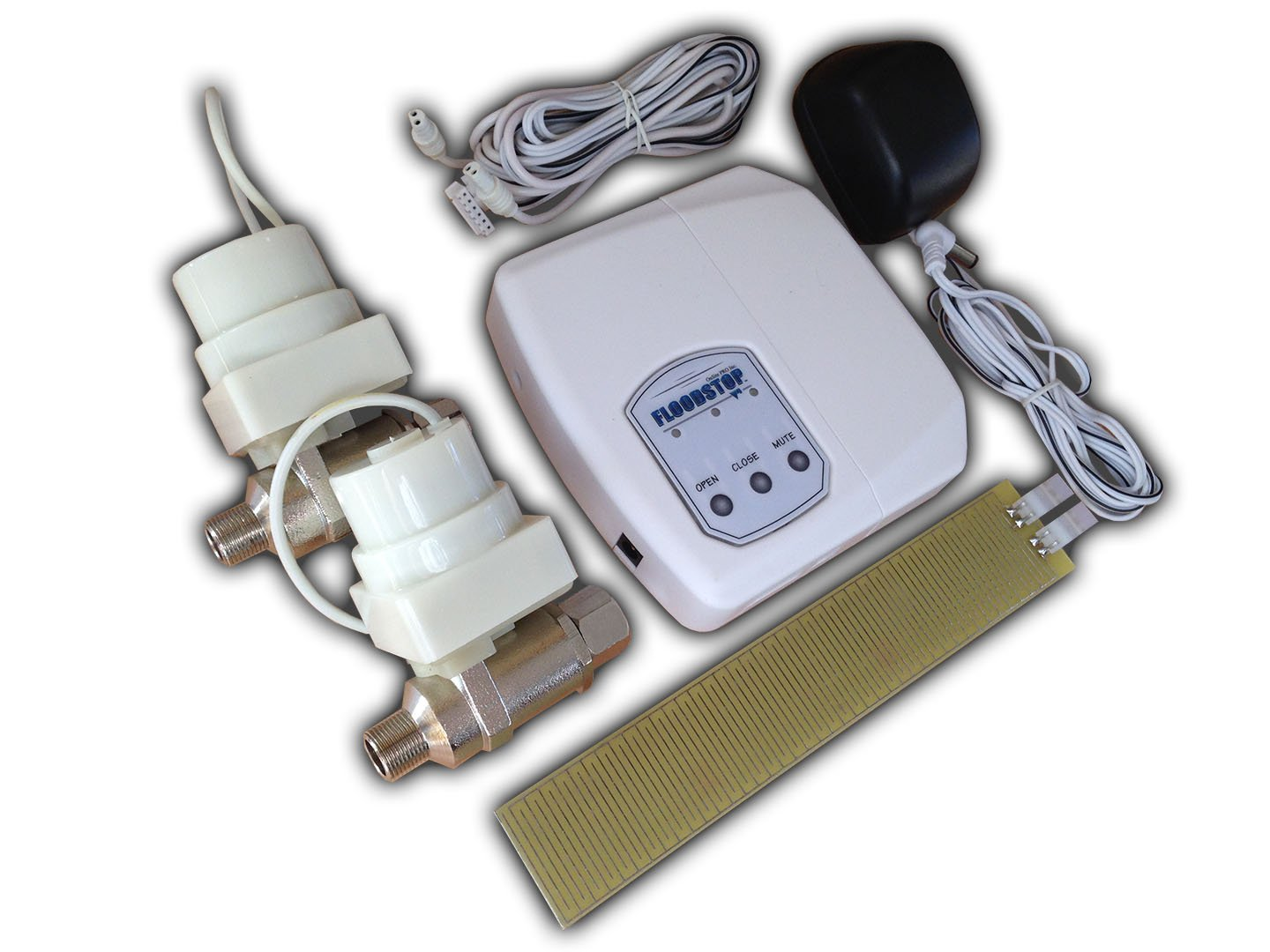 FloodStop FS3/8CD Sink (Hot and Cold) FloodStop with 3/8 Inch Compression Valves by FloodStop