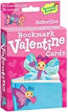 Peaceable Kingdom Pop-Out Butterfly Bookmark Valentine Cards