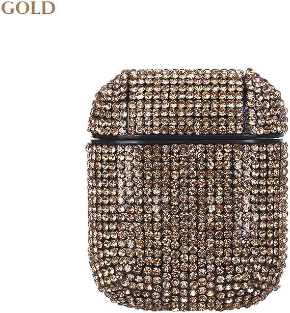 Amazon Com Shining Diamond Decorative Case For Airpods Case
