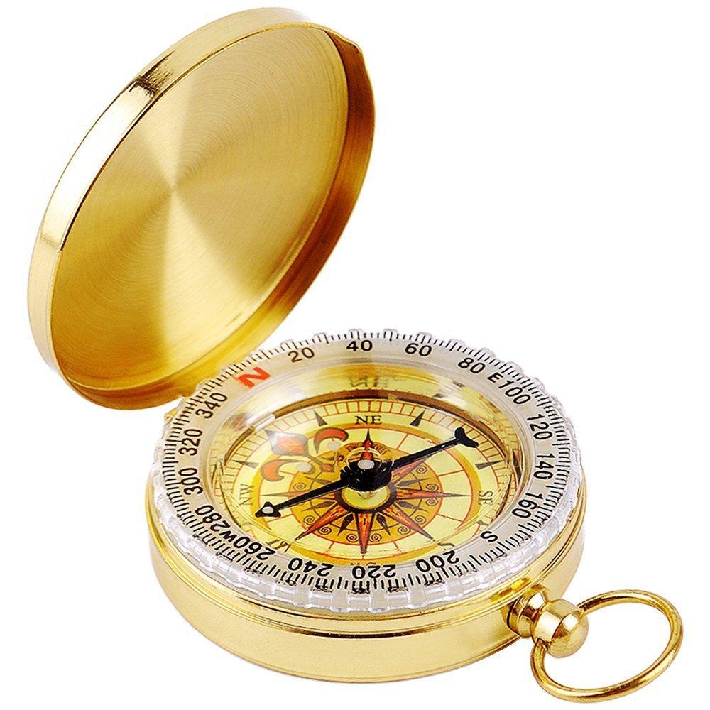 mmy-boussole Compass Tasche-Zirkel tragbar f/ür Reise Au/ßen Outdoor Navigation Camp Wandern Guide D-Tool survie-or