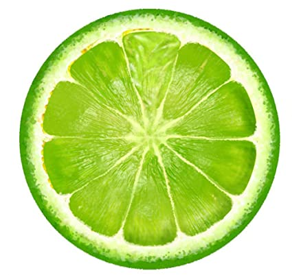 yonger artificial fruit home house kitchen party decoration fake fruit 5 pieces lemon slice green