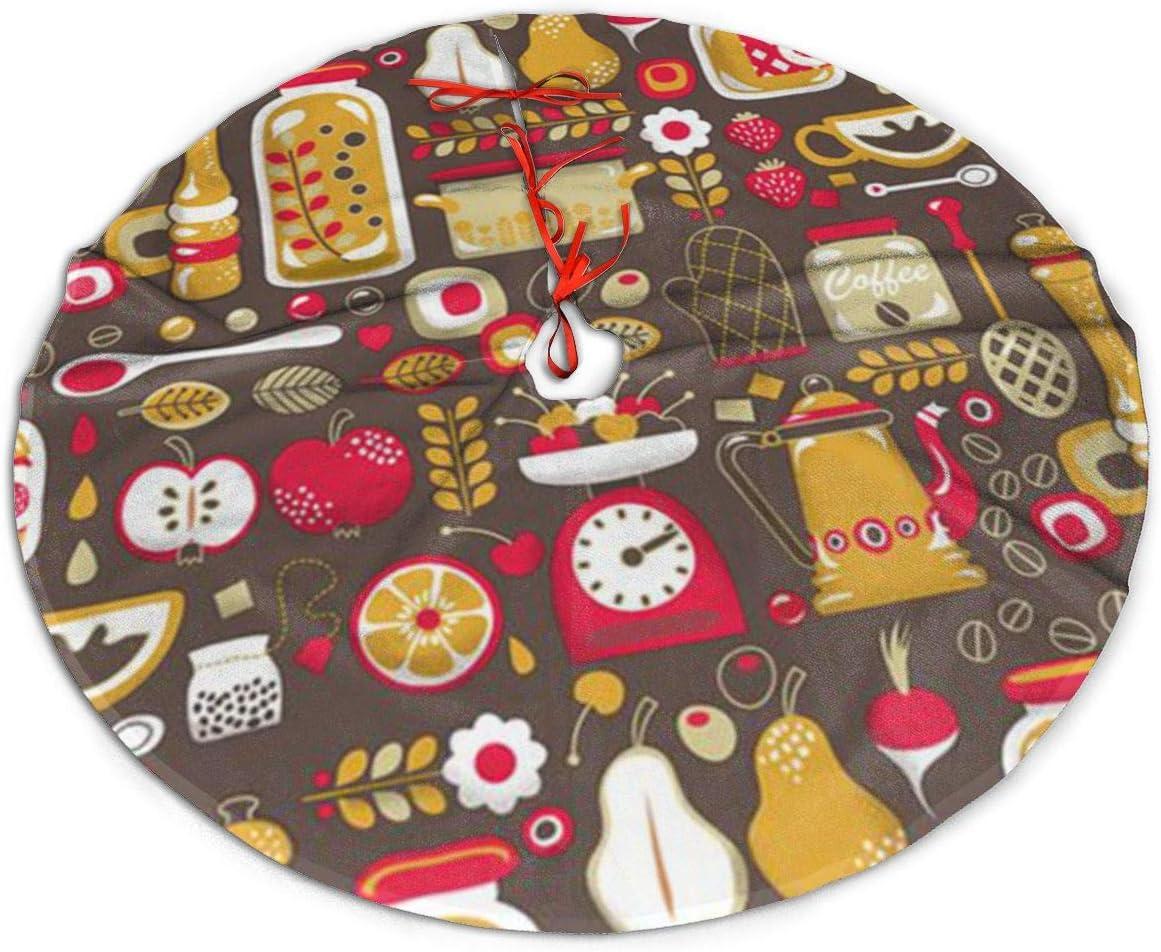 Tree Skirt for Christmas Xmas Tree Decorations Holiday Decoration Indoor Outdoor GUIYTQ5R Thanksgiving Christmas Tree Skirt