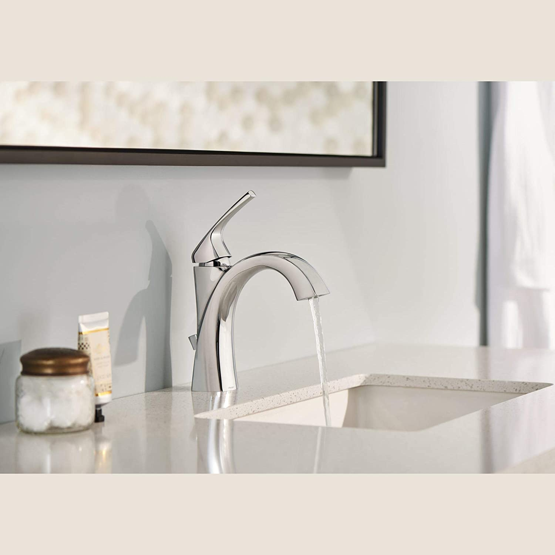 Danze D225028BN Draper Single Handle Bathroom Faucet Brushed Nickel