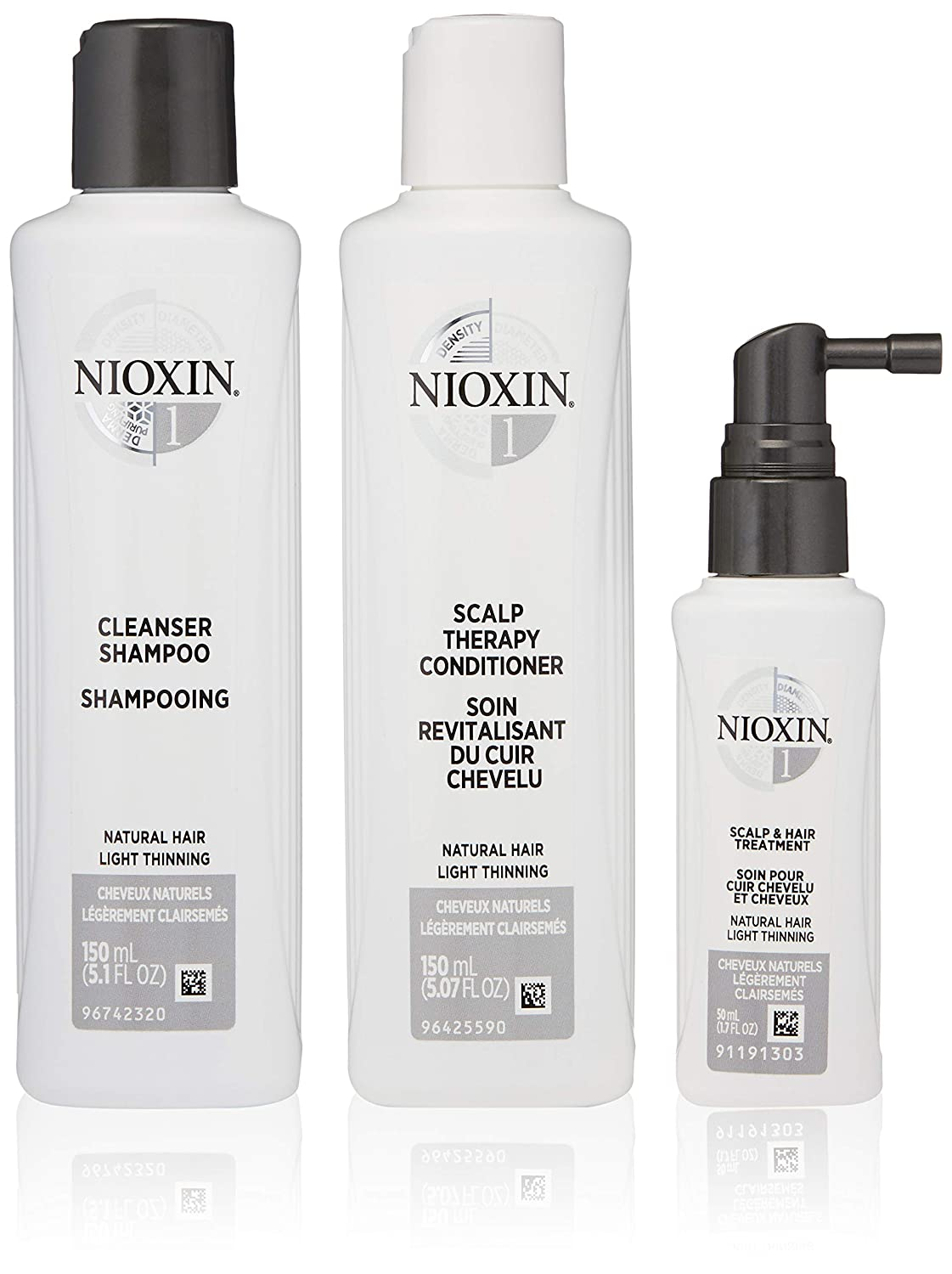 Nioxin Hair Care Kit System 1 for Fine Hair with Light Thinning