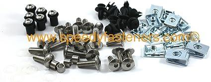 Honda CBR600RR 2003/ /2006/Embellecedores de Kit de perno de acero inoxidable y protector de tornillos
