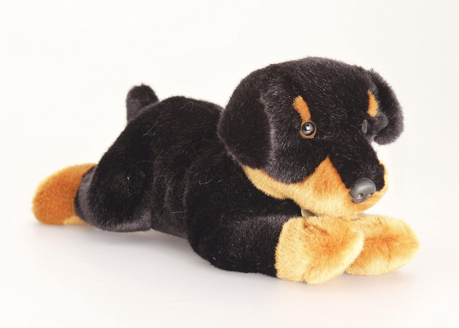 Keel Toys Cuddly Plush 35cm Rottweiler Dog Soft Toy Called Reggie Co Uk Games