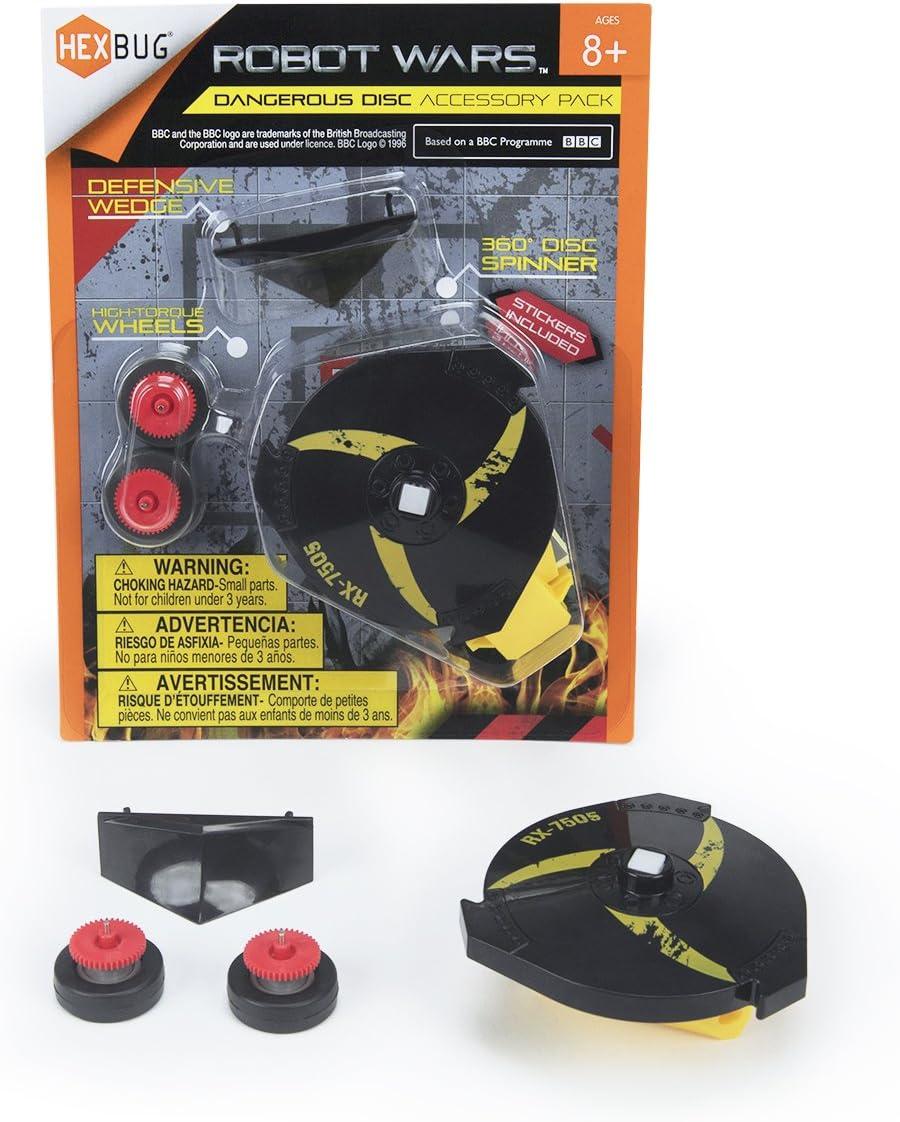 HEXBUG 419-6143 Robot Wars Dangerous Disc - Set de Accesorios para Robots de Combate: Amazon.es: Juguetes y juegos