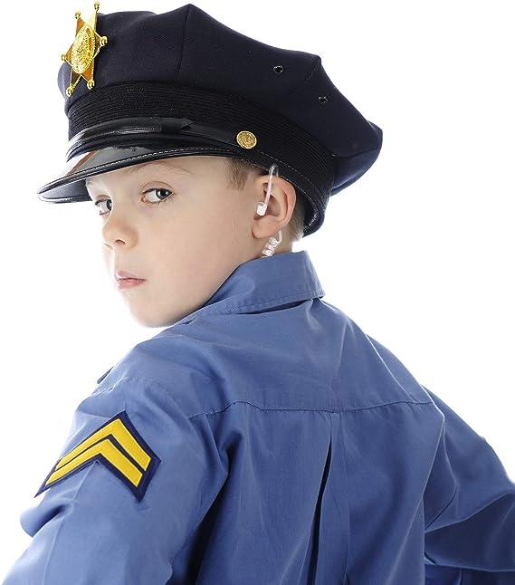 4 Paquetes de Juguete de Auriculares Espía de Seguridad Agente de ...