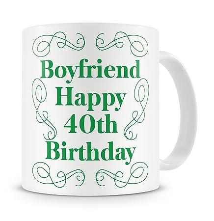 Boyfriend Happy 40th Birthday Mug