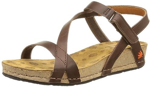 ART 0736 0736 Mojave Pompei sandali con plateau Donna Marrone Brown 37 EU
