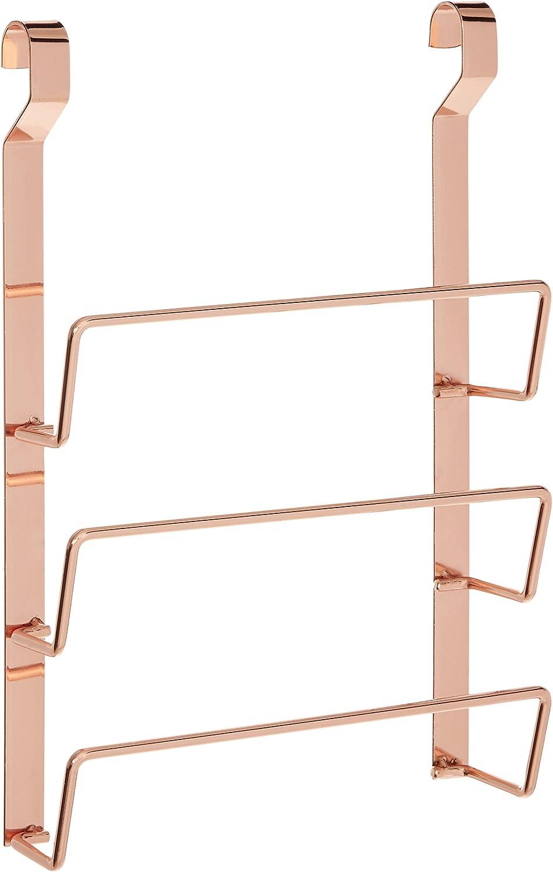 Iron White Premier Housewares Sorello Hanging Pan Lid Rack 7 x 24 x 36cm