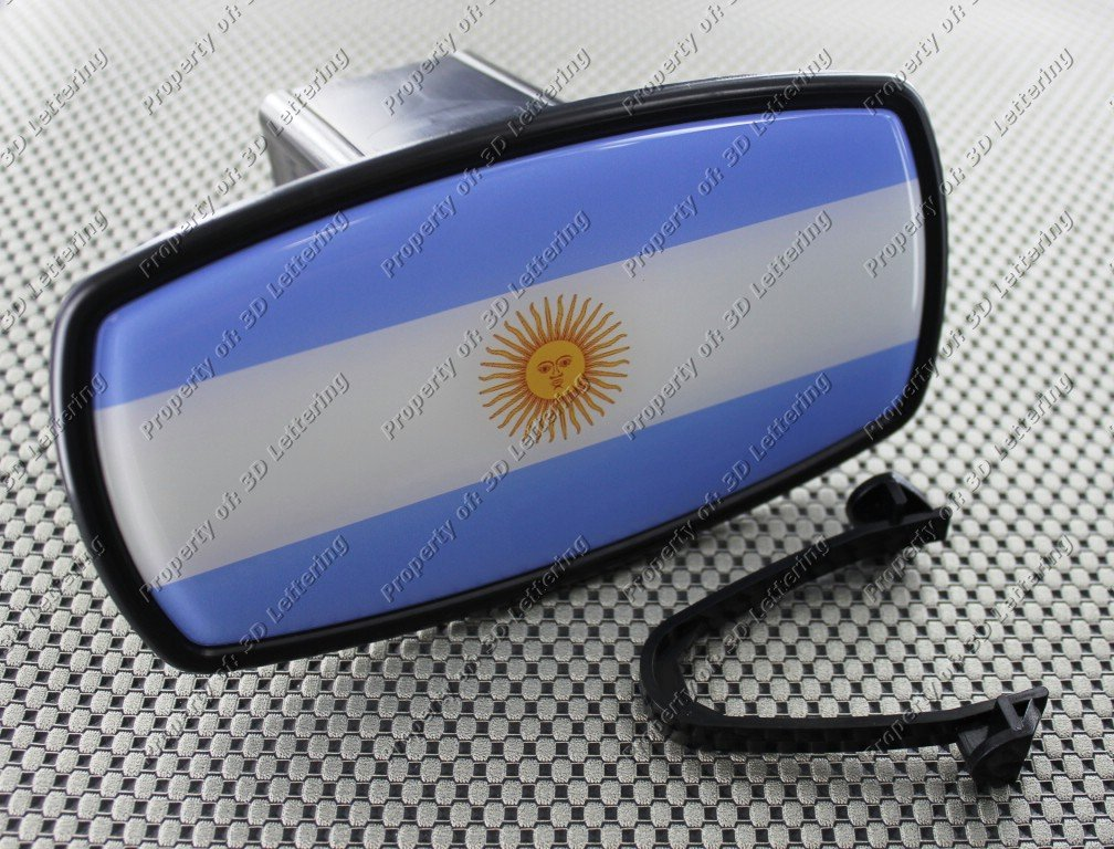 ARGENTINA FLAG Trailer Hitch Cover Mirror Style