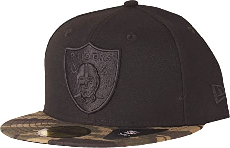WOOD CAMO Oakland Raiders New Era 59Fifty Fitted Cap