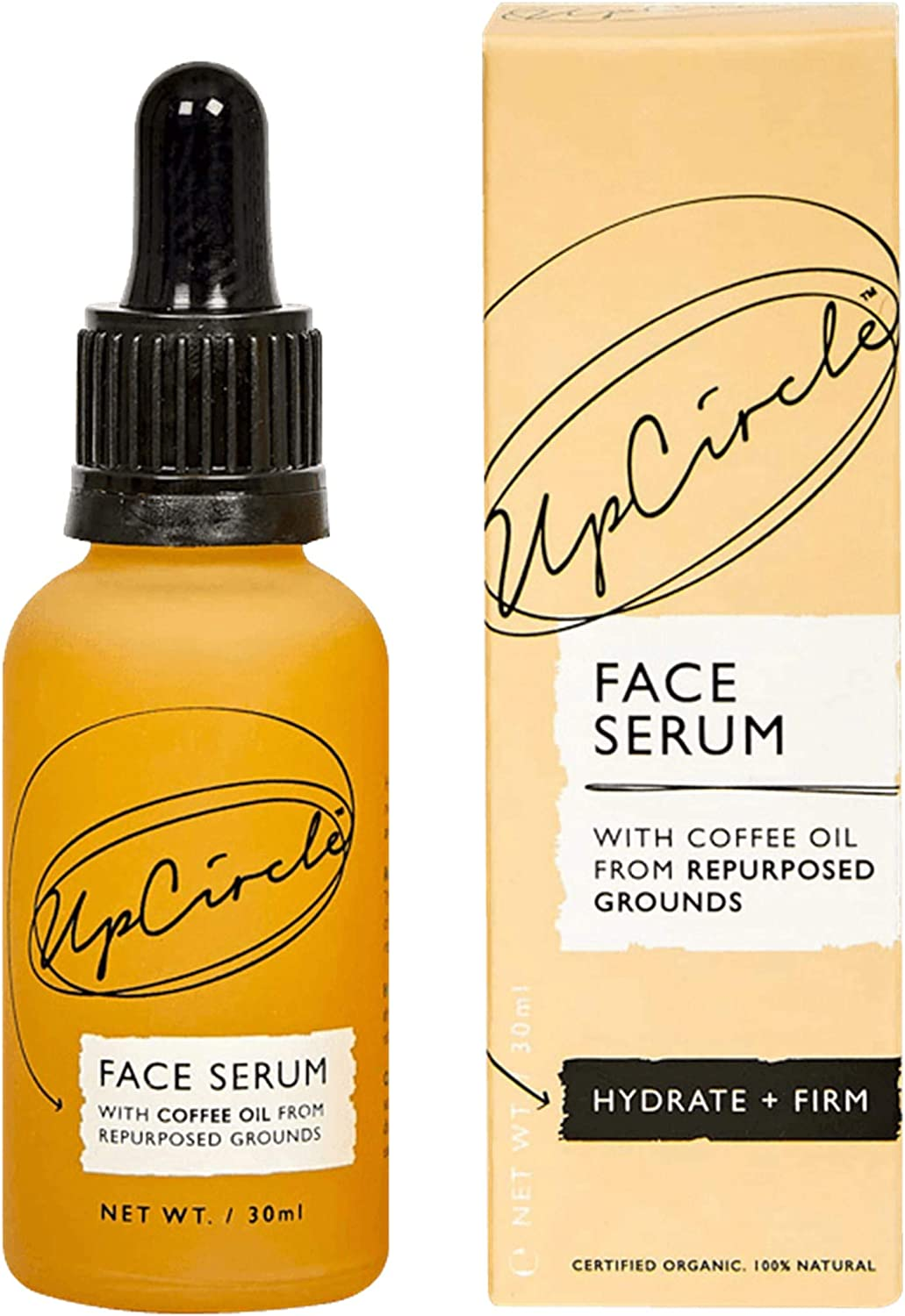 UpCircle Organic Facial Serum With Coffee Oil