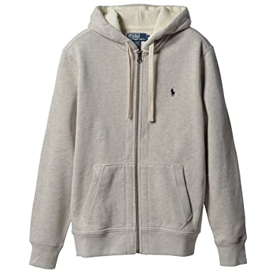 Ralph Lauren Polo Zip Hooded Sweatshirt White