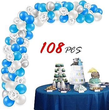 Tissu Cercle Bleu Confettis Kid Party Décor Mariage Mariée turquoise pour ballon