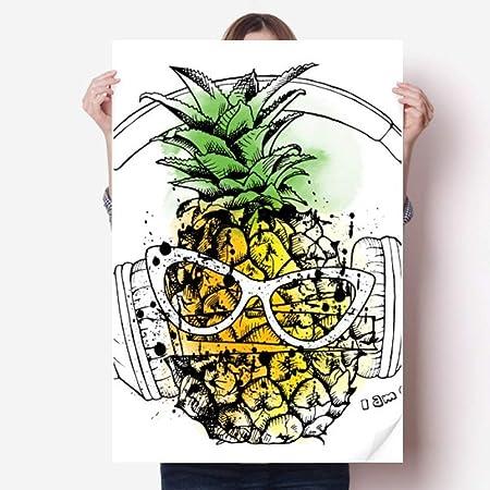 DIYthinker 80X55Cm Auricular piña Fruta Gafas de Sol de ...