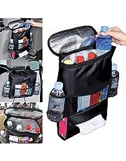 $27 » Weardear Auto Car Back Seat Multi Pockets Storage Organizer Holder Insulation Bag Audio Integration Devices