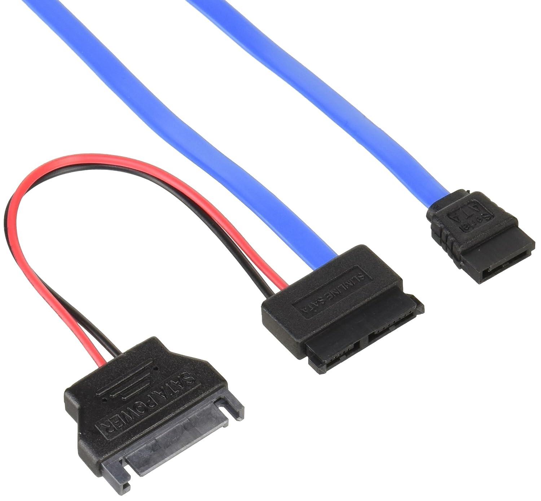 変換名人 SATA電源(15ピン) → ペリフェラル(大4ピン)変換ケーブル SP-IDEP