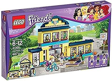 Amazon.com: LEGO Friends corazón lago escuela 41005 ...