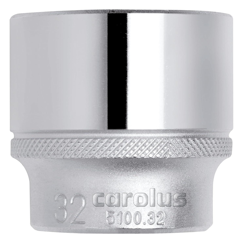 Carolus 5100.34 - Llave de vaso 1/2' 34 mm
