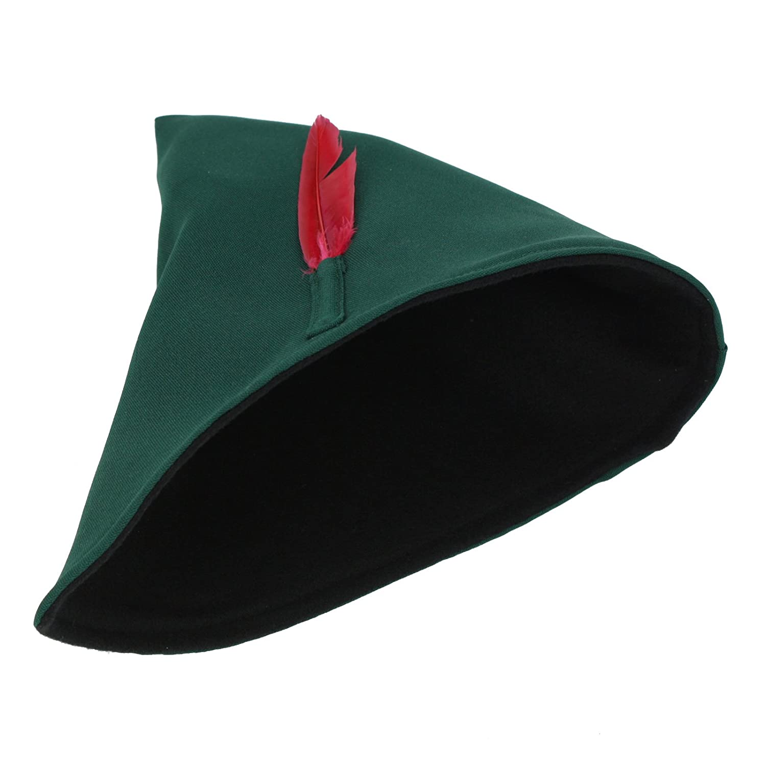 Classic Peter Pan Costume Hat Feather