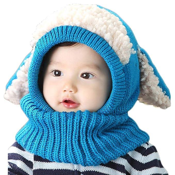 SHBUY Sombrero de bebé de Invierno 74df6b673cd