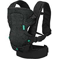 Infantino Flip 4-in-1 Convertible Carrier, Black
