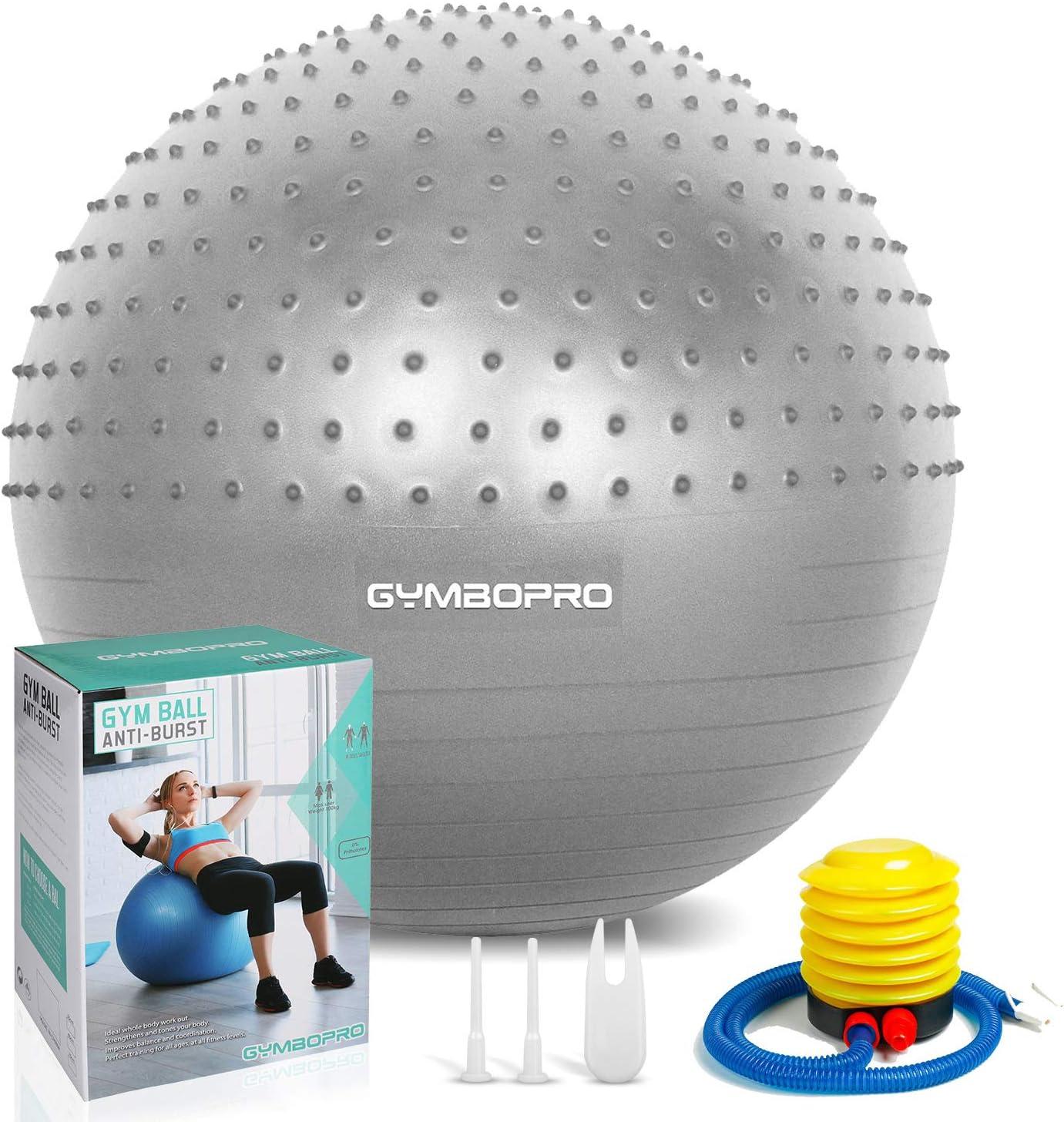 PDF en alem/án 23cm Pelota Fitball Ejercicios beneyu /® Antideslizante y S/úper Ligero Pelota de Pilates Suave
