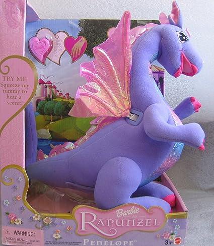 timeless design sold worldwide pick up BARBIE Rapunzel TALKING PENELOPE DRAGON Approx. 13-1/2