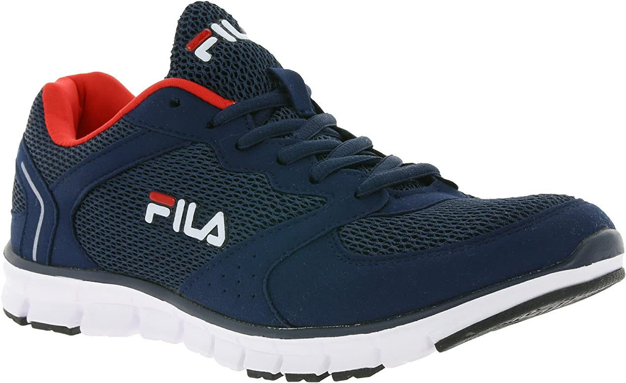 Fila - Zapatillas de Gimnasia de Lona para Hombre Azul Turquesa ...