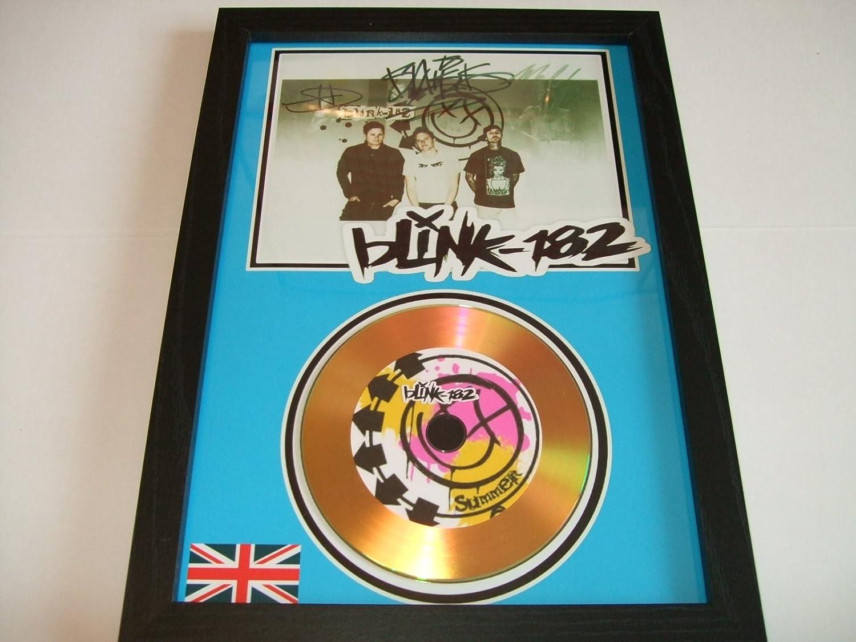 Blink 182 Signed Presentation DISC