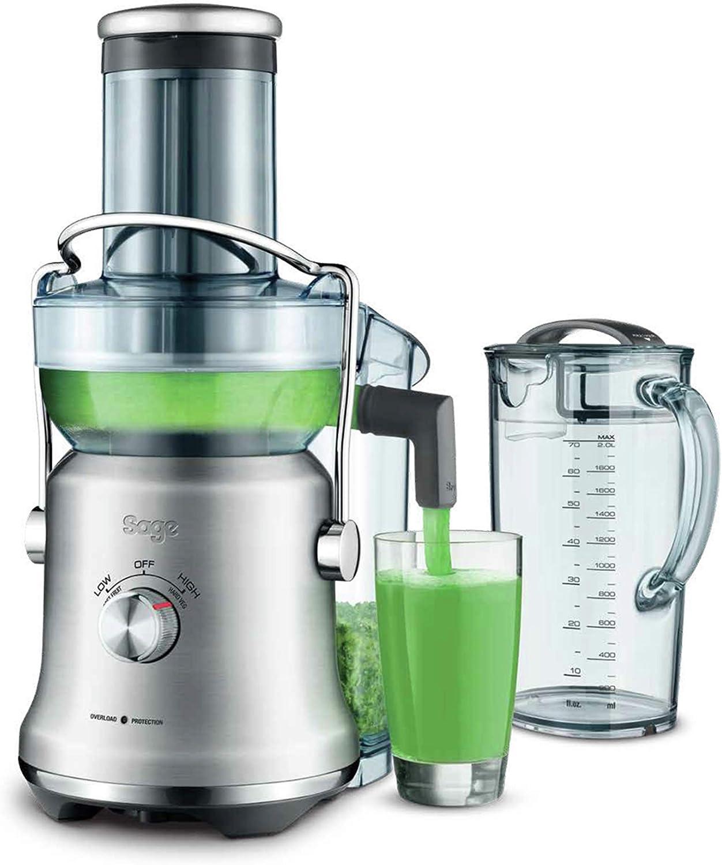 Sage Appliances sje830 The NUTRI Juicer Cold XL Licuadora, acero ...
