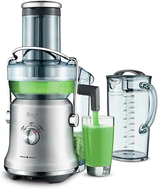 Sage Appliances sje830 The NUTRI Juicer Cold XL Licuadora, acero ...