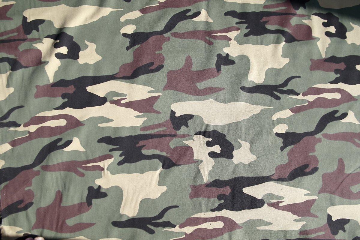 Ejército de camuflaje algodón Tejido Material. Se vende por hoja 200cm x 148cm wildlifephotographyshop