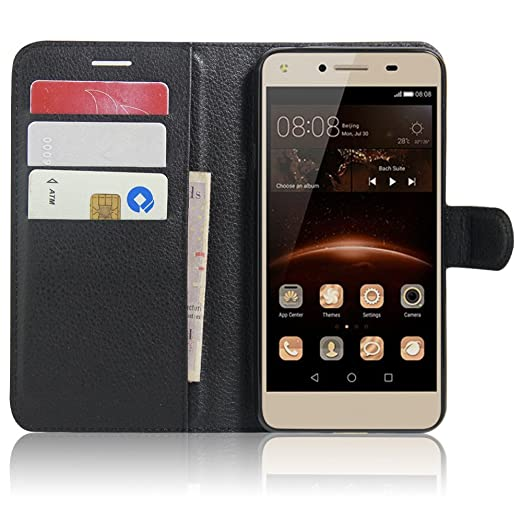 23 opinioni per Huawei Y5II / Huawei Y5 2 Wallet Cover, SMTR Custodia In Pelle Con Wallet Case