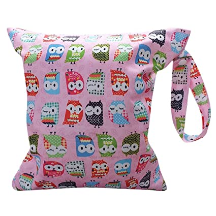 Little Sporter Baby Agua Densidad bolso cambiador bolsas de toalla Baby Pañales reutilizables Impresión botón Calavera