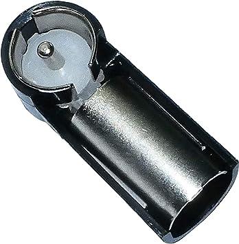 AERZETIX: Adaptador para antena en angulo ISO-DIN de autoradio C2830